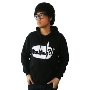 Image of ABUDEN?! Hoodie - UNISEX BLACK