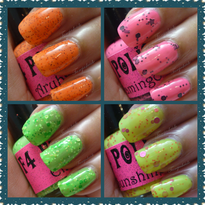 Image of F4 Polish The Neon Collection
