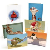 Image of The Daily Zoo Notecards
