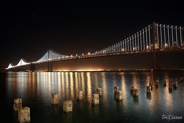 Image of Bay Bridge. San Francisco, California