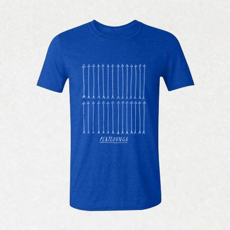 Image of SI01 | Playlounge - Arrows Band T-Shirt by Lew Currie