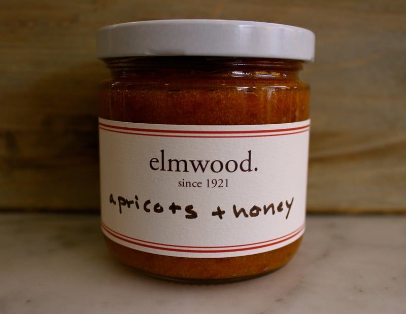 Image of Elmwood Apricots & Honey Fruit Spread