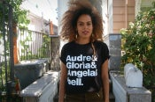 Image of AUDRE & GLORIA & ANGELA & BELL. - THE GODDESSES SHIRT