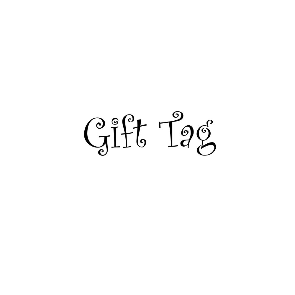 Image of Gift Tag