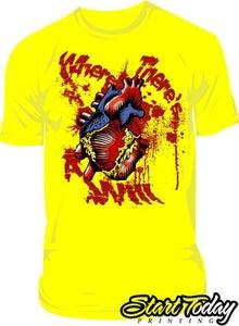 Image of Heart (Yellow)