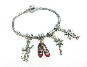 Image of Wizard Of OZ Charm Bracelet