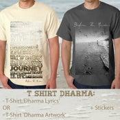Image of T Shirt 'Dharma Lyrics' (-T Shirt 'Dharma Artwork' = SOLD OUT!!!)