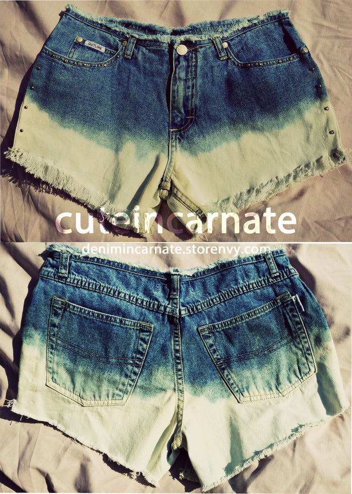 Image of CUSTOM Ombre Shorts - made to order