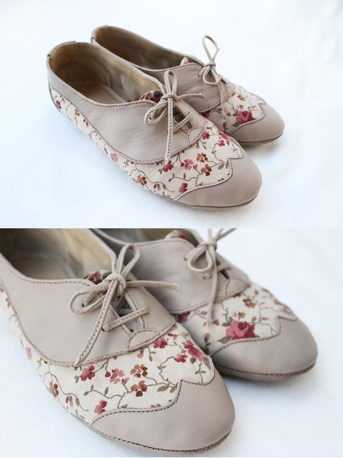Image of Soft foldable Oxfords - Sugar Tea Party