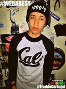 Image of #CALI BASEBALL TEE (THE BOYS OF SUMMER) #CLASSIC