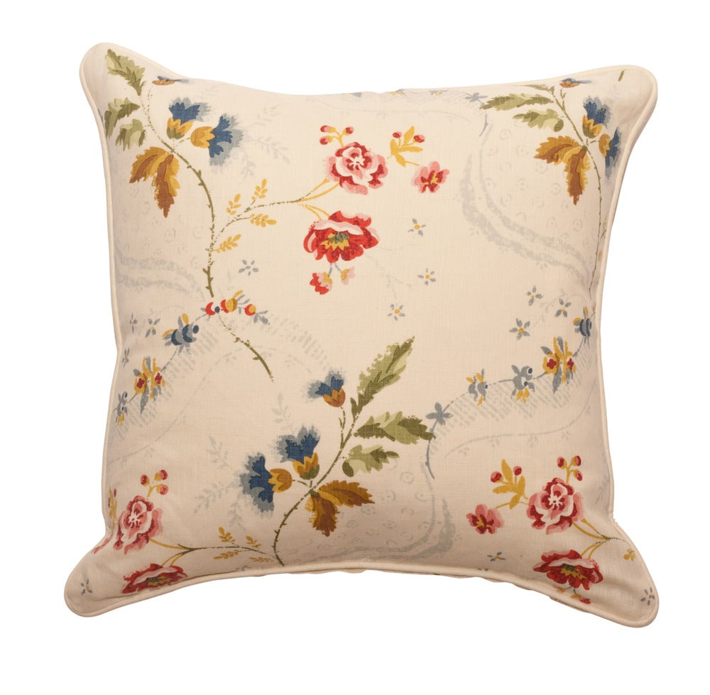 Image of Scalamandre Collection- Downton Multi Color Pillow