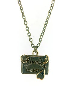 Image of Beautifully Detailed Ouija Board Necklace