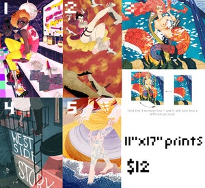"Image of 11""x17"" Print"