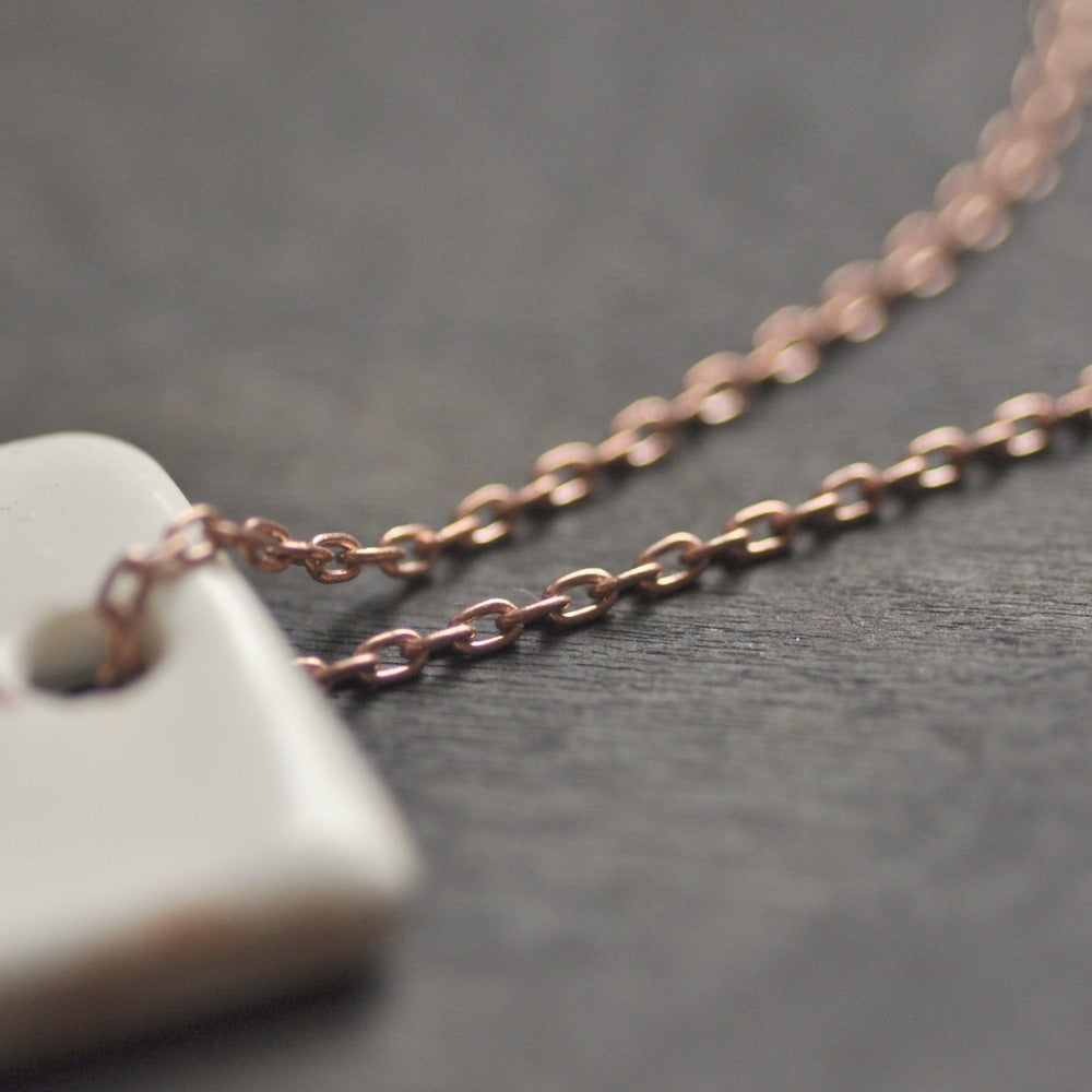 Image of in thought pendant