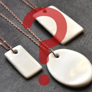 Image of custom designed pendant
