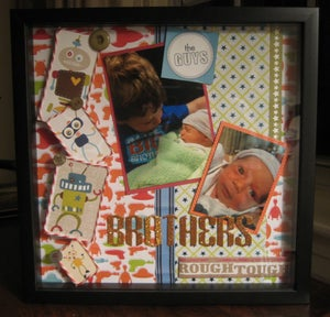 Image of Large Customized Shadow Box