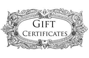 Image of Paraphernalia Gift Certificates!