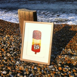 Image of FAB lolly