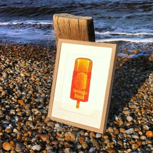Image of ORANGE MAID lolly