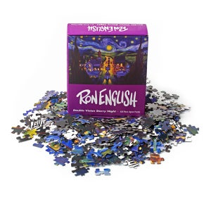 Image of 'Double Vision Starry Night' Puzzle