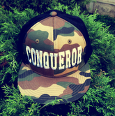 "Image of ""Conqueror"" Army Fatigue Snap Back"