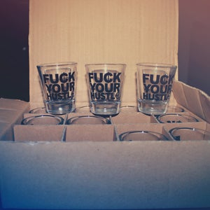 Image of Currency Shot Glass