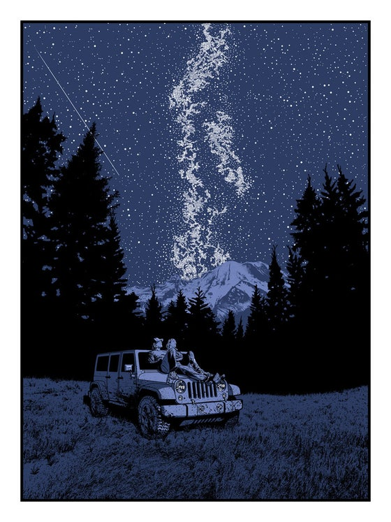 Image of Under a Blanket of Stars We Confessed Our Dreams