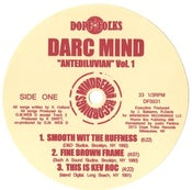 """Image of DARC MIND """"ANTEDILUVIAN VOL.1"""" SOLD OUT***"""