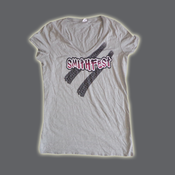 Image of SmithFest Ladies V-Neck - Gray