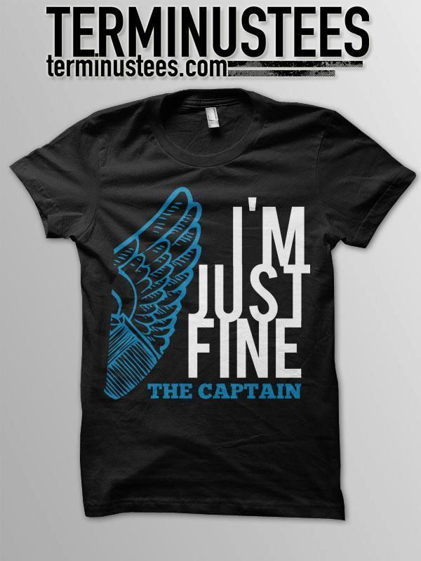 "Image of ""IM JUST FINE"" T-Shirt"