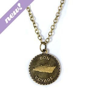 Image of bon voyage necklace
