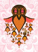 Image of BIRDS! Pink colorway.