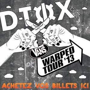 Image of Vans Warped Tour x D-Tox Bus Pass