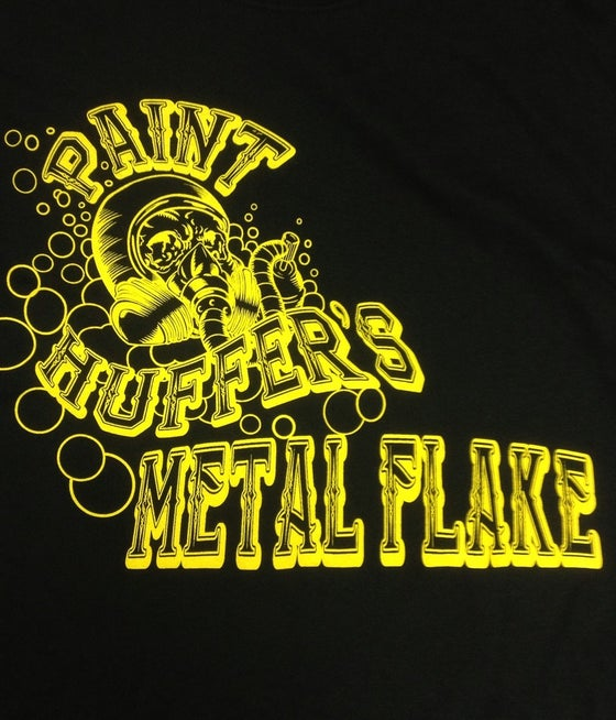 Image of PAINTHUFFER METAL FLAKE TSHIRT