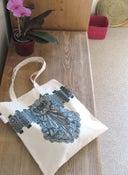 Image of Embellished Bag - Lace