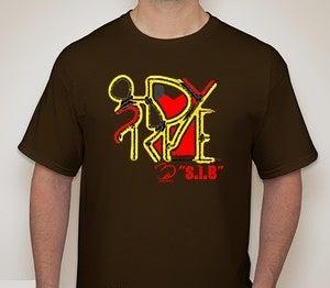 Image of 3rdeye Brand abstract tee