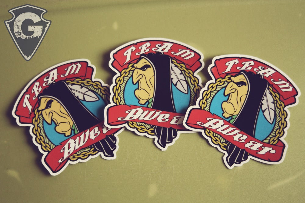 Image of Team GWear Stickers 3 for the prize of 1