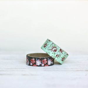 Image of Floral Washi Tape