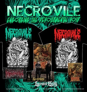 Image of NECROVILE - Engorging The Devourmental Void - TS