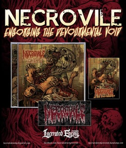 Image of NECROVILE - Engorging The Devourmental Void - CD