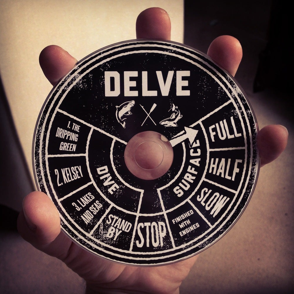 """Image of Limited Edition Debut EP - """"Delve"""""""