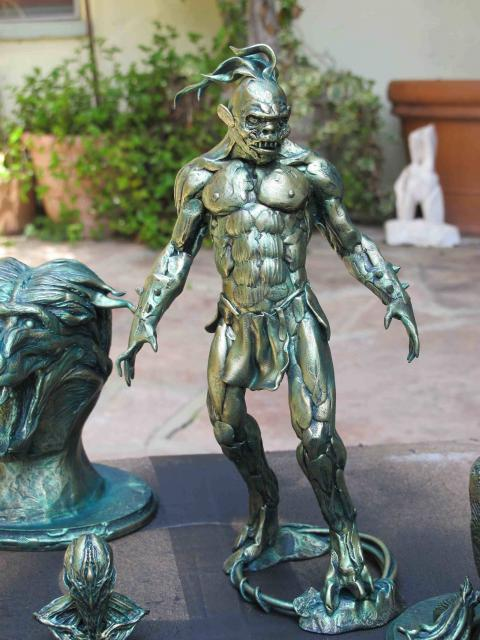 Image of Jordu Schell's Barbarian Demon Figure