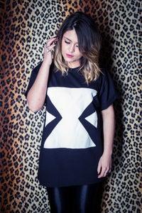 Image of EXTRAGGED Unisex 'X' T-Shirt (Black)
