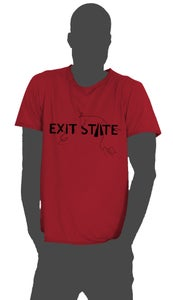 "Image of Exit State 2013 T-shirt in ""Cardinal Red"""
