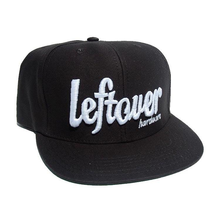 Image of LEFTOVER BLACK SCRIPT HAT