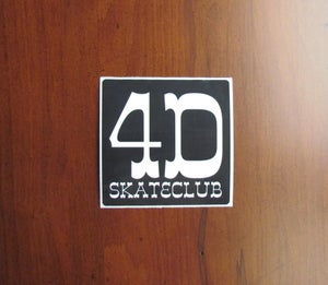 Image of 4D VINYL STICKER