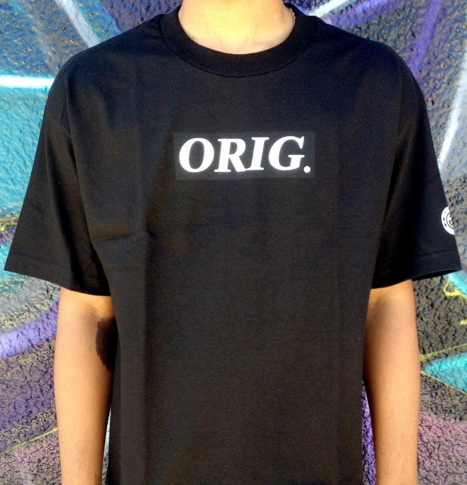 Image of ORIG BOX-LOGO (BLACK)