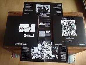 Image of SHADOW OF THE TORTURER 'Dronestown' lp white vinyl