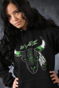 Image of Buffalo Skull / Hoodie - Black
