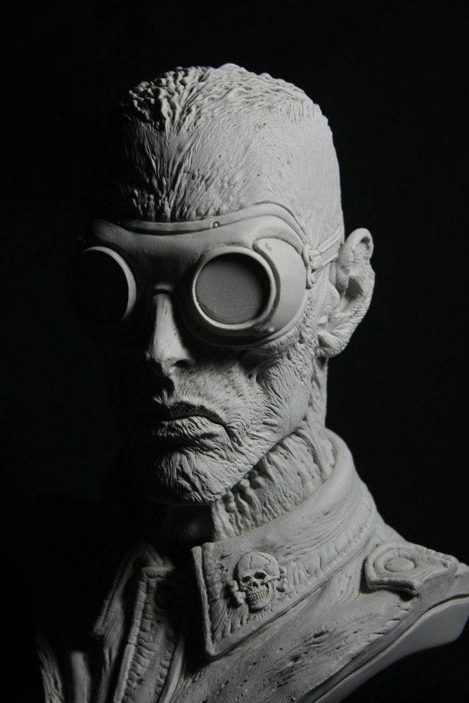 Image of Paul Komoda's Death Corps Zombie Resin Kit